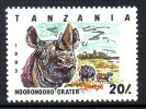 TANZANIE. N°1442 De 1994. Rhinocéros. - Rhinozerosse
