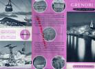 38 - GRENOBLE - DEPLIANT TOURISTIQUE ANNEES 40-50- EDITE PAR CHAMBRE INDUSTRIE PAPETERIES PONT DE CLAIX- - Tourism Brochures