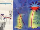 38 - GRENOBLE - DEPLIANT TOURISTIQUE ANNEES 40-50-DE GENEVE A MARSEILLE- ANNECY-AIX-CHAMBERY-LARAGNE-SISTERON-MANOSQUE- - Dépliants Touristiques