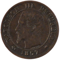 Second Empire, 1 Centime Napoléon III Tête Nue - France