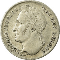 Belgique, Léopold I, 1/4 Franc Tête Laurée - 1831-1865: Léopold I
