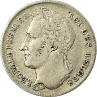Monnaie, Belgique, Leopold I, 1/4 Franc, 1844, TTB, Argent, KM:8 - 1831-1865: Leopold I