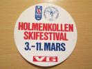 Sticker Skifestival Holmenkollen - Norway 1984 - Stickers