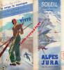 39- JURA- 06- COTE AZUR- ALPES- 83- 13- COTE AZUR- 1937- TOULON- GRASSE-CANNES- BRIANCON- MENTON-JUAN- VENCE- PONTARLIER - Dépliants Touristiques