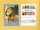 "* Carte DISNEY PIXAR "" AUCHAN "" :   ZIG - ZAG  (  TOY STORY  ) N°67  / 135 - Disney"