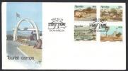Namibia, FDC 1991, Sc # 702-705. - Namibia (1990- ...)