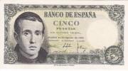 BILLETE DE ESPAÑA DE 5 PTAS DEL 16/08/1951 SERIE 1E EN CALIDAD EBC+ (BANKNOTE) - [ 3] 1936-1975 : Régimen De Franco