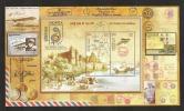 INDIA, 2011, 100 Years Of Airmail Commemorating 100 Years Of Allahabad-Naini Flight, M Sheet, MNH, (**) - Aviones