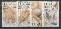 Tuvalu 1992 Olympiade Barcelona 638/41 Postfrisch - Tuvalu (fr. Elliceinseln)