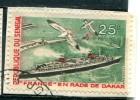 Sénégal 1966 - YT 285 (o) Sur Fragment - Senegal (1960-...)