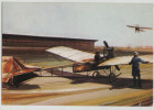 Plane Flug Flugzeug Monoplan Zsélyi Aladár 1912 MALÉV Edition Hungarian Airlines Post Card Postkarte Postcard - 1946-....: Moderne