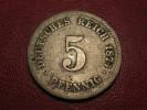 Germany - 5 Pfennig 1874 G 8106 - [ 2] 1871-1918 : German Empire