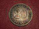 Germany - 20 Pfennig 1874 B Silver 8060 - [ 2] 1871-1918 : German Empire