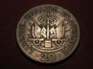 Haiti - 20 Centimes 1907 Liberté égalité Fraternité 8096 - Haiti