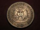 Haiti - 50 Centimes 1908 Liberté égalité Fraternité 8091 - Haïti