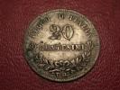 Italy - 20 Centesimi 1863 T BN Emanuele II Silver 8112 - 1861-1946 : Kingdom