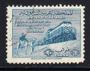 Saudi Arabia Used Scott #191 20q Bedouins, Train - Blue - Arabie Saoudite