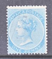 JAMAICA  1 C  Pale Blue  (o) - Jamaica (...-1961)