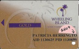 Wheeling Island Gold Level Slot Card 1H09 (2009) - Casino Cards