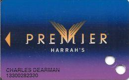 Harrah´s Tunica Casino Premier Slot Card - Casino Cards