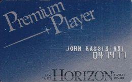 Horizon Casino Lake Tahoe NV 2nd Issue Slot Card - Casino Cards