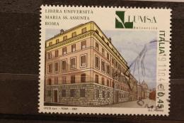 ITALIA USATI 2004 - SCUOLE D´ITALIA LUMSA LIBERA UNIVERSITÀ´ MARIA SS ASSUNTA ROMA - RIF. G 1552 - QUALITA´ LUSSO - 6. 1946-.. Repubblica