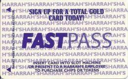 Harrah´s Casino Kansas City Fast Pass Card - Casino Cards