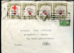 81506 - 5 TP, Tarif  22 C, OMEC BARRANQUILA Agt 1947 Pour La FRANCE TB - Colombia