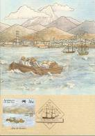 Australia-1987 First Fleet At Tenerife,36c Vera Cruz  Maximum Card - Maximum Cards