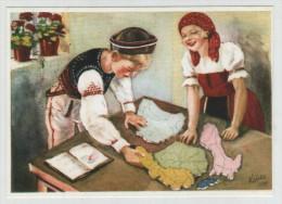 Hungary Ungarn Hungarian Trianon Irredenta 1930s Politics Political Propaganda Reproduction Post Card Postkarte POSTCARD - Evènements