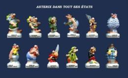 SERIE COMPLETE DE FEVES ASTERIX DANS TOUS CES ETATS 2016 - Charms
