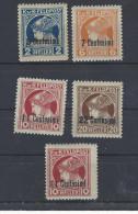 F.P. f. Italien Nr. 20 - 23 und Nr. 22 Breitformat postfrisch