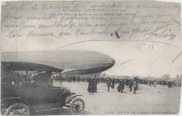 54 - Le Zeppelin à LUNEVILLE - 3-4 Avril 1913 - Le Petit Oiseau De France Survollant Le Kolossal Aigle Allemand - Luneville