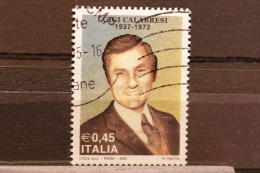 ITALIA USATI 2005 - LUIGI CALABRESI - RIF. G 1562 - QUALITA´ LUSSO - 6. 1946-.. Repubblica