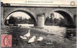 18 SAINT FLORENT SUR CHER - Vue Sur Les Bords Du Cher --- - Saint-Florent-sur-Cher