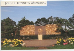 Cape COD Massachssetts : The John F. KENNEDY Memorial (dedicaced July 8 1966) N°289 Neuve - Politicians & Soldiers