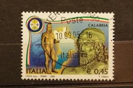 ITALIA USATI 2005 - REGIONI D'ITALIA CALABRIA - RIF. G 1570 - QUALITA´ LUSSO - 6. 1946-.. Repubblica