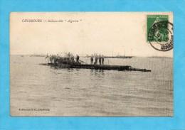 """Cherbourg. - Submersible """" Algérien """" - Cherbourg"""