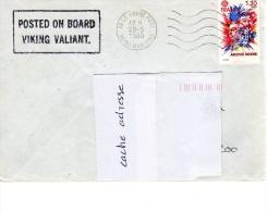 Car Ferry VIKING VAILLANT (Grande Bretagne) Obl. Le Havre 28/05/80 - Marcophilie (Lettres)