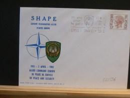 56/556    LETTRE   1981   SHAPE - Gelegenheidsafstempelingen