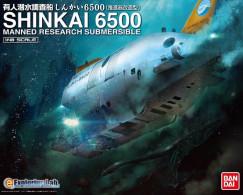 Shinkai 6500 Manned Research Submersible 1/48 (  Bandai ) - Boats