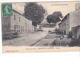 25383 CHAUDENEY SUR MOSELLE - Eglise - Environs TOUL Loraine Illustrée - Bernard Toul - France