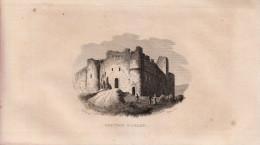 1834 - Gravure Sur Cuivre - Arlay (Jura) - Le Château - FRANCO DE PORT - Estampes & Gravures