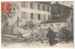 92 - COURBEVOIE - Crue De La Seine - Janvier 1910 - Rue Louis-Blanc - Maison écroulée - ELD - Courbevoie