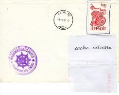 NERENKULKULAITOS JAANMURTTAIA URHO Obl. Kemi 08/04/81 - Postmark Collection (Covers)