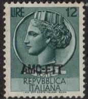 PIA - TRIESTE  A - 1953-54 : Siracusana  - (SAS 170) - 7. Trieste