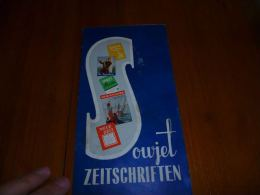 AA3-1 Brochure Bruxelles Expo 58 Pavillon URSS Sovjet Zeitschriften (document En Allemand) - Livres, BD, Revues