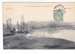 25388  Champigny Sur Yonne - Les Bords De L´Yonne -ed Hedier L H Paris -
