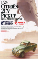 Citroën 2 CV Pickup Royal Marine Service 1/24  ( Asuka ) - Cars
