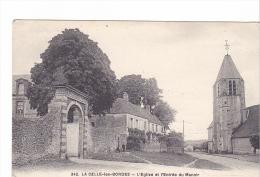 25390 CELLES LES BORDES L Eglise Et Entrée Manoir -342 Lagrange Rambouillet - France